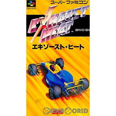 【中古即納】[箱説明書なし][SFC]エキゾースト・ヒート(19920221)