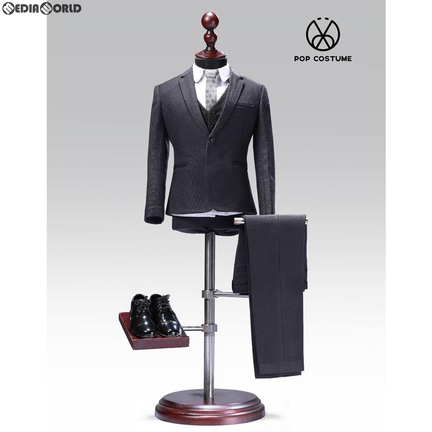 【新品即納】[FIG]1/6 メール スーツ セット 2.0 for ナローショルダー グレー ドール用衣装(POP-X27-C) ポップトイズ(20200125)