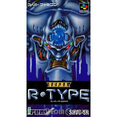 【中古即納】[箱説明書なし][SFC]スーパーアールタイプ(SUPER R-TYPE)(19910713)