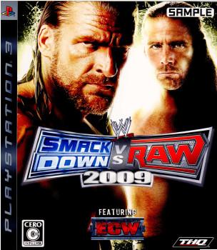 【中古即納】[PS3]WWE 2009 SmackDown vs Raw(スマックダウン vs ロウ)(20090122)