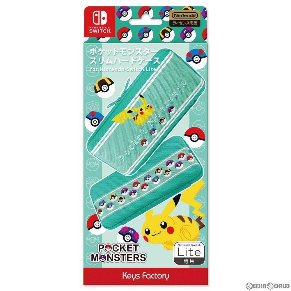 【予約前日出荷】[ACC][Switch]ポケットモンスター スリムハードケース for Nintendo Switch Lite(ニンテンドースイッチライト) 任天堂ライセンス商品 キーズファクトリー(CSH-102-1)(2020年12月中旬)