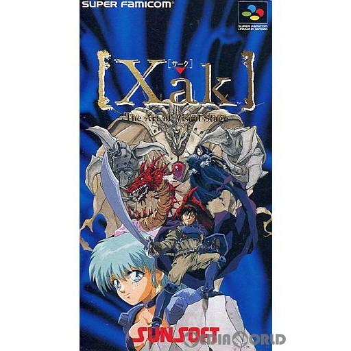 【中古即納】[箱説明書なし][SFC]Xak(サーク)(19930226)