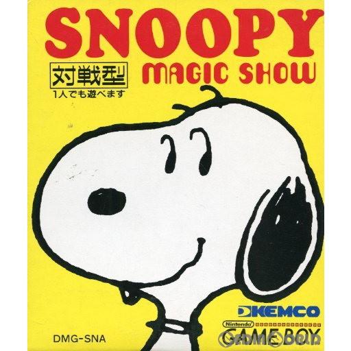 【中古即納】[箱説明書なし][GB]スヌーピー マジックショー(Snoopy's Magic Show)(19900428)