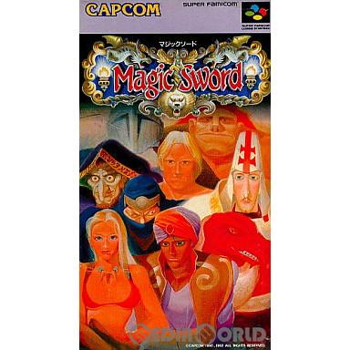 【中古即納】[箱説明書なし][SFC]マジックソード(Magic Sword)(19920529)
