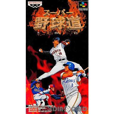 【中古即納】[箱説明書なし][SFC]スーパー野球道(19960126)