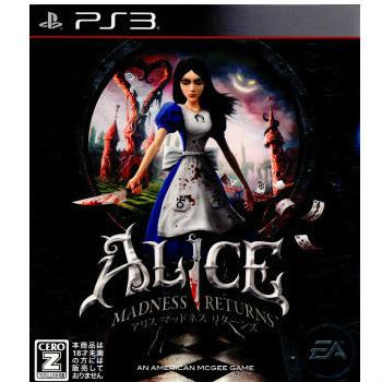 【中古即納】[PS3]アリス マッドネス リターンズ(ALICE MADNESS RETURNS)(20110721)