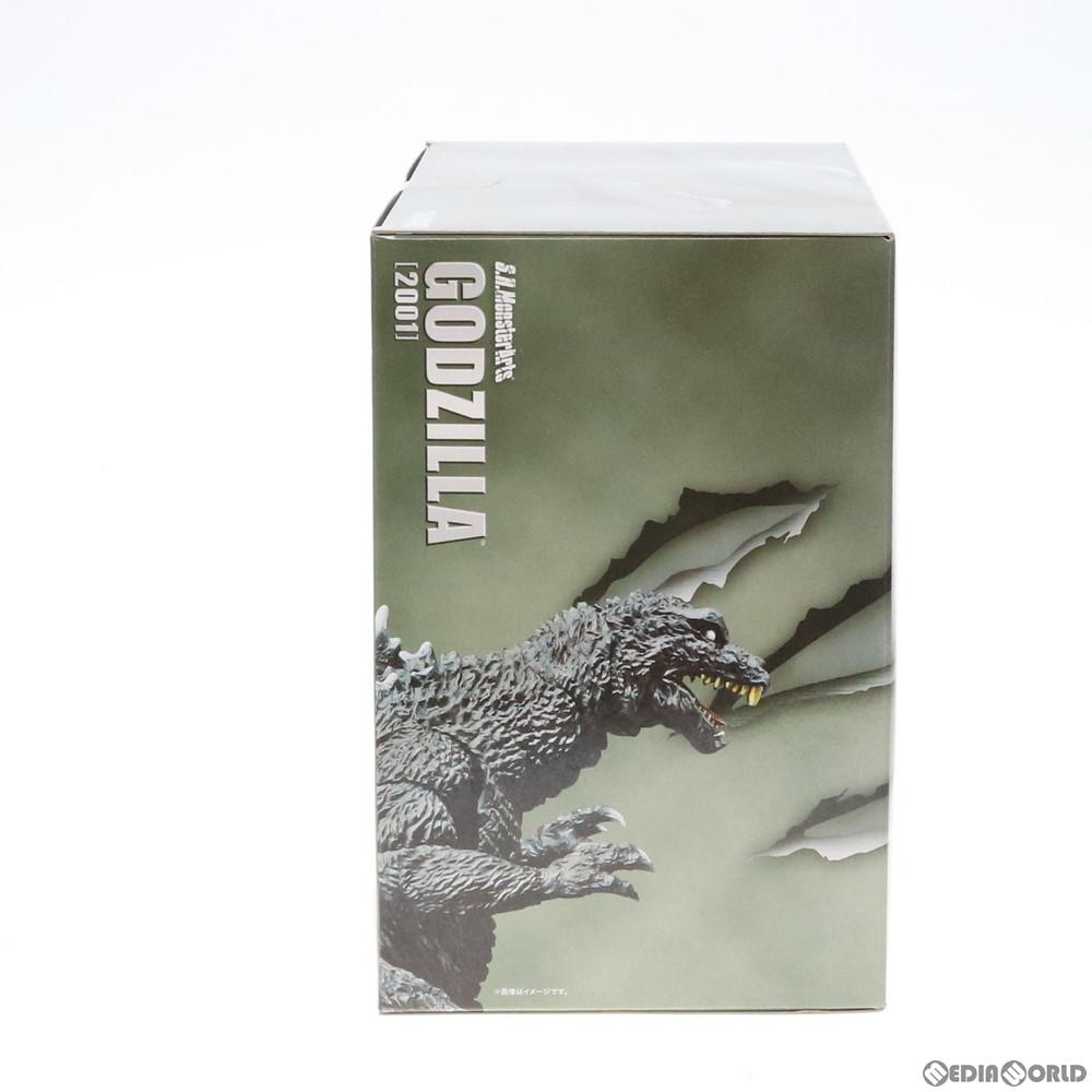 【中古即納】[未開封][FIG]魂ウェブ商店限定 S.H.MonsterArts(モンスターアーツ) ゴジラ(2001) ゴジラ・モスラ・キングギドラ 大怪獣総攻撃 完成品 可動フィギュア バンダイ(20160624)