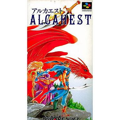 【中古即納】[箱説明書なし][SFC]アルカエスト(19931217)