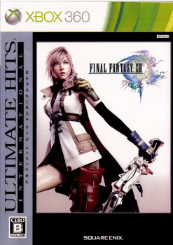 【中古即納】[Xbox360]ULTIMATE HITS INTERNATIONAL FINAL FANTASY XIII(ファイナルファンタジー13)(JES1-00108)(20101216)
