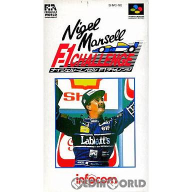 【中古即納】[箱説明書なし][SFC]ナイジェル・マンセル F1チャレンジ(19930319)