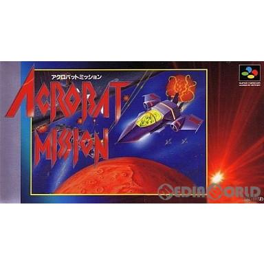 【中古即納】[SFC]アクロバットミッション(ACROBAT MISSION)(19920911)