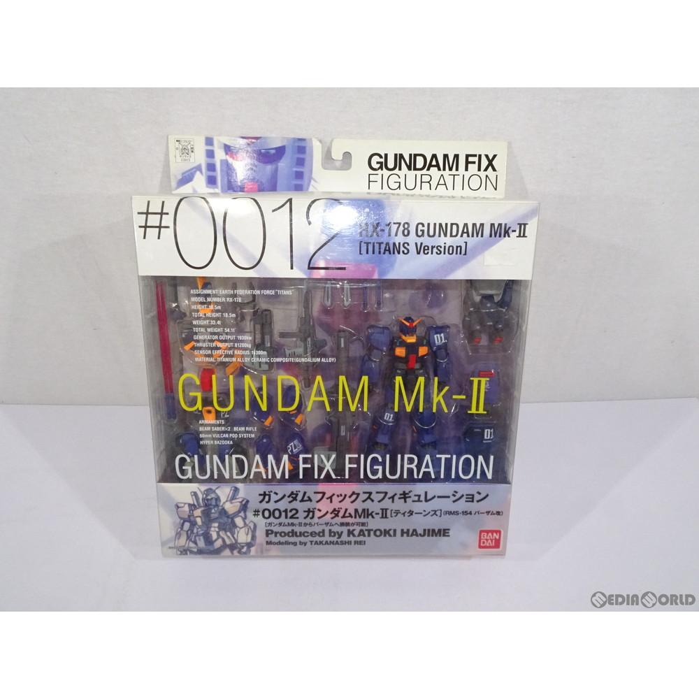 【中古即納】[未開封][FIG]GUNDAM FIX FIGURATION #0012 ガンダムMk-II [ティターンズ] 1号機 機動戦士Zガンダム 完成品 可動フィギュア バンダイ(20030101)