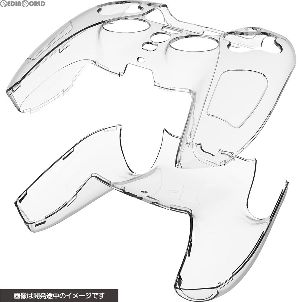 【新品即納】[ACC][PS5]CYBER・コントローラープロテクトカバー(PS5用) クリア サイバーガジェット(CY-P5CPTC-CL)(20201112)
