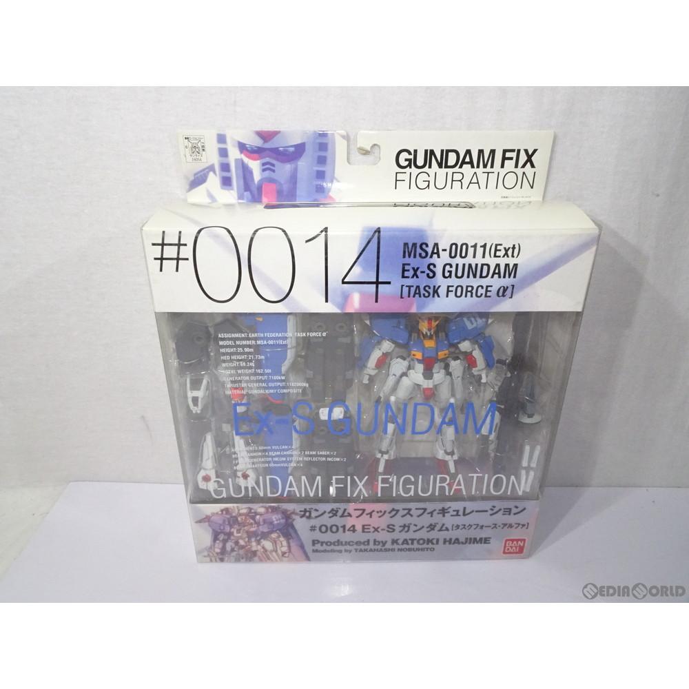 【中古即納】[未開封][FIG]GUNDAM FIX FIGURATION #0014 EX-Sガンダム[タスクフォースアルファ] ガンダム・センチネル 完成品 可動フィギュア バンダイ(20030501)