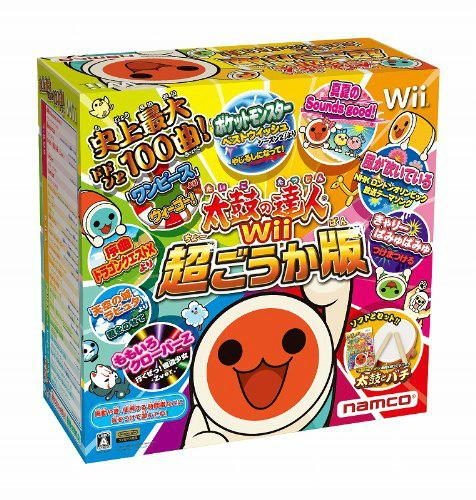【中古即納】[Wii]太鼓の達人Wii 超ごうか版 専用太鼓コントローラ同梱版(20121129)