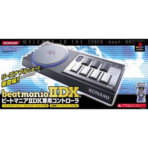 【中古即納】[ACC][PS2]beatmania IIDX(ビートマニア2DX) 専用コントローラ コナミ(RU029-J2)(20040805)