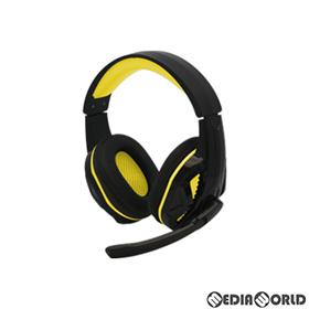 【新品】【お取り寄せ】[ACC][PS4](PS4/PC用) マルチ ゲーミングヘッドセット(ブラックイエロー) コロンバスサークル(CC-P4MGH-YW)(20200618)
