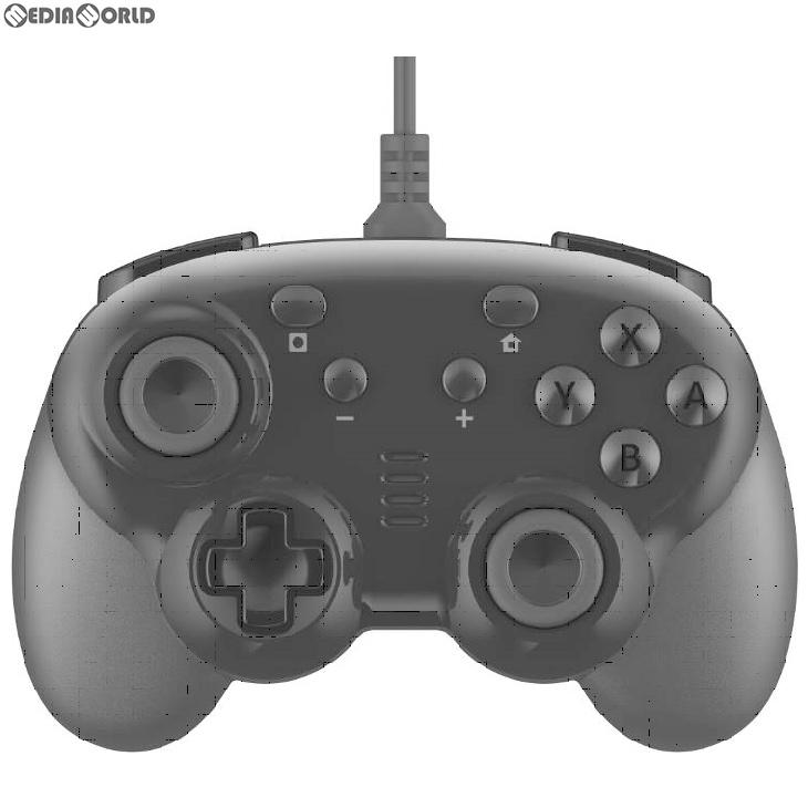 【新品即納】[ACC][Switch]CYBER・ジャイロコントローラー ミニ 有線タイプ(SWITCH用)(スイッチ用) ブラック サイバーガジェット(CY-NSGYCMW-BK)(20191031)