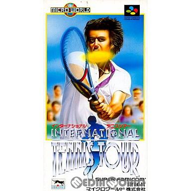 【中古即納】[箱説明書なし][SFC]インターナショナルテニスツアー(19930326)