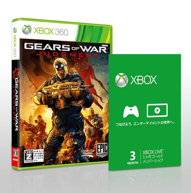 【中古即納】[Xbox360]Gears of War:Judgment(ギアーズオブウォージャッジメント) Xbox LIVE ゴールドメンバーシップ同梱版(20130321)