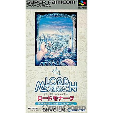 【中古即納】[箱説明書なし][SFC]ロードモナーク(Lord Monarch)(19921009)