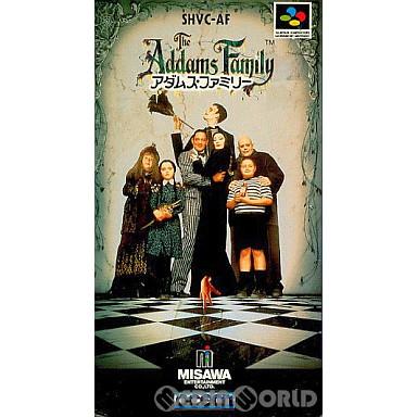 【中古即納】[箱説明書なし][SFC]アダムスファミリー(The Addams Family)(19921023)