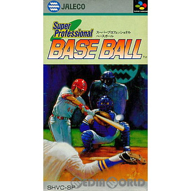 【中古即納】[SFC]スーパープロフェッショナルベースボール(Super Professional BASE BALL)(19910517)