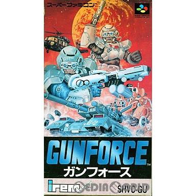 【中古即納】[箱説明書なし][SFC]ガンフォース(GUNFORCE)(19921127)