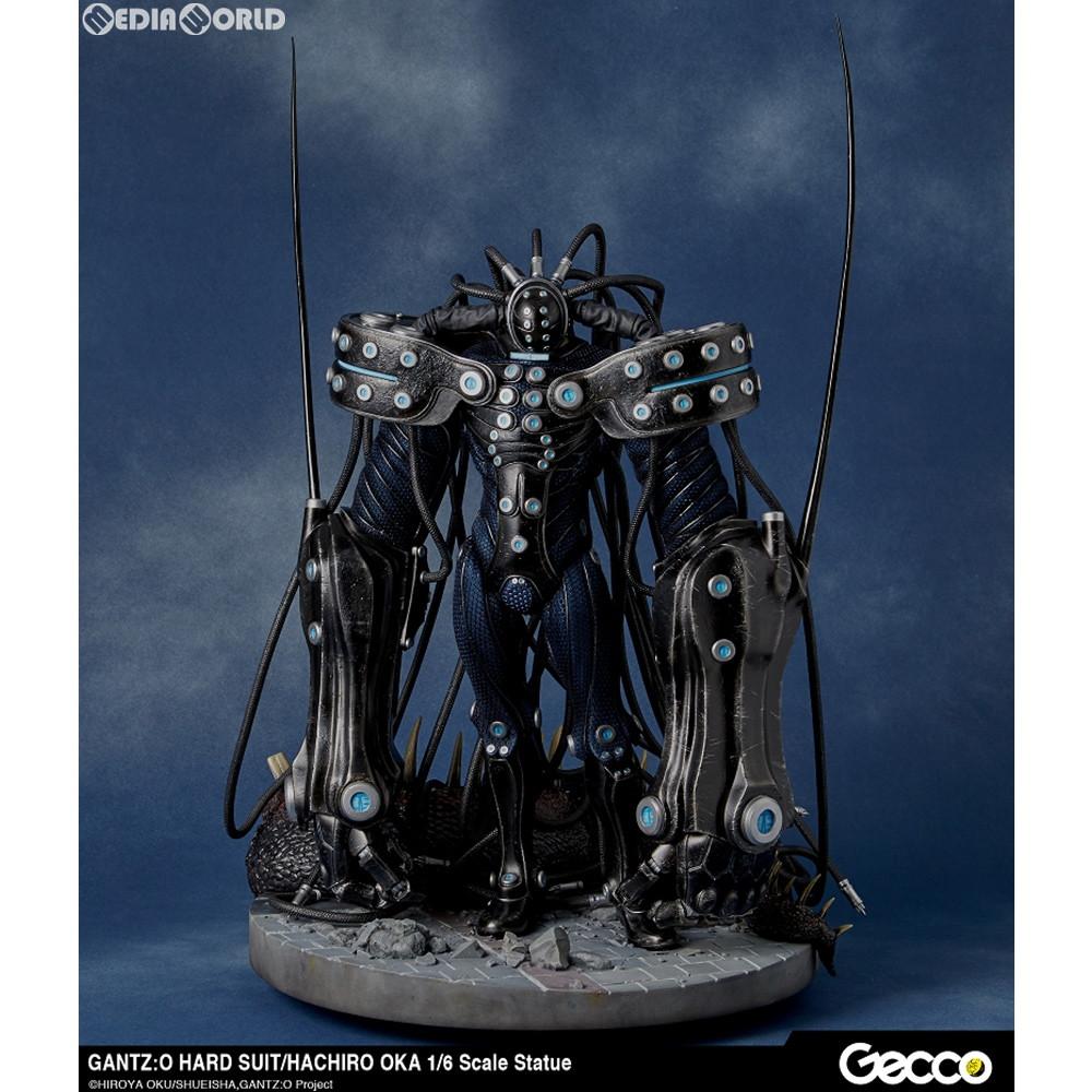 【新品即納】[FIG]ハードスーツ 岡八郎(おかはちろう) GANTZ:O(ガンツ:オー) 1/6 スタチュー 完成品 フィギュア Gecco(ゲッコウ)(20200201)