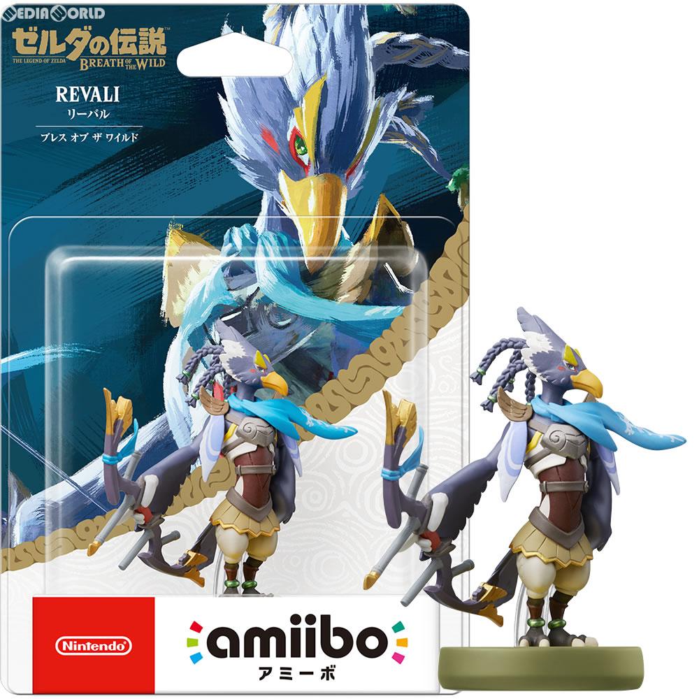 【中古即納】[ACC][Switch]amiibo(アミーボ) リーバル ブレス オブ ザ ワイルド (ゼルダの伝説シリーズ) 任天堂(NVL-C-AKAT)(20171110)
