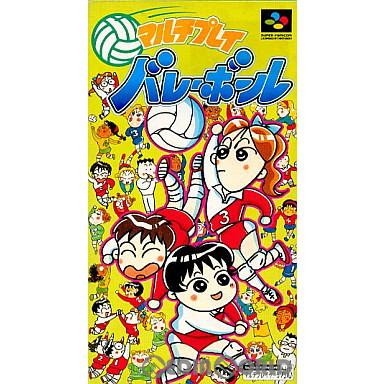 【中古即納】[箱説明書なし][SFC]マルチプレイバレーボール(19941028)