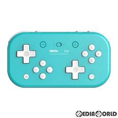 【新品即納】[ACC][Switch]8BitDo Lite Bluetooth Gamepad(ゲームパッド) Turquoise Edition(ターコイズエディション) サイバーガジェット(CY-8BDLBG-TQ)(20191231)