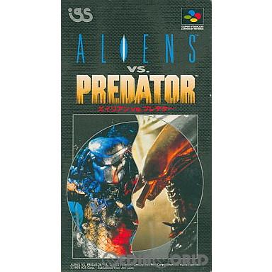 【中古即納】[箱説明書なし][SFC]エイリアンVS.プレデター(ALIENS vs. Predator)(19930108)