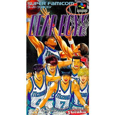 【中古即納】[箱説明書なし][SFC]DEAR BOYS(ディア ボーイズ)(19941028)