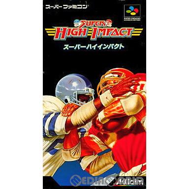 【中古即納】[SFC]スーパーハイインパクト(Super High Impact)(19930709)