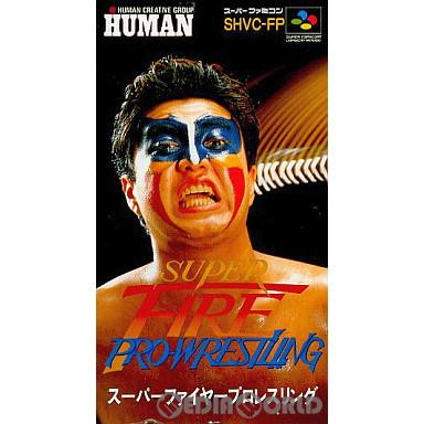 【中古即納】[SFC]スーパーファイヤープロレスリング(SUPER FIRE PRO-WRESTLING)(19911220)