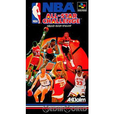 【中古即納】[箱説明書なし][SFC]NBAオールスターチャレンジ(19930521)