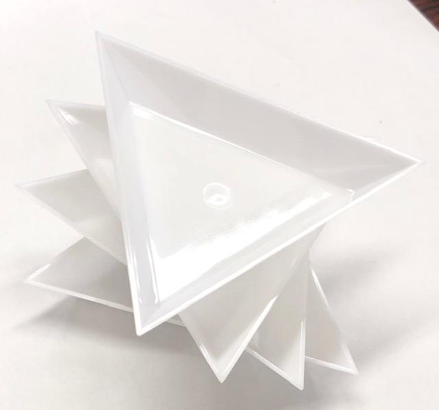 極お得!収納ケース3種類パック+吸着ペン+三角トレイ(4枚)/1セット