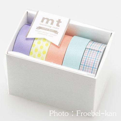 【完売】mt ギフトボックス パステル(マスキングテープ)