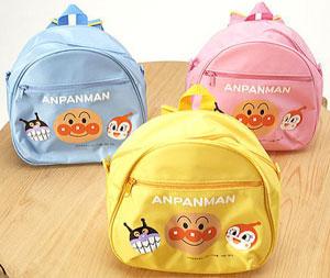 【完売】アンパンマンDバッグ(ピンク/ブルー/イエロー)★遠足&ピクニックが、もっともっと楽しみになる!