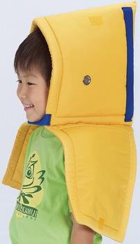 セイフティクッションSLタイプ(子ども用)★災害対策!お子さまの肩までしっかり守る