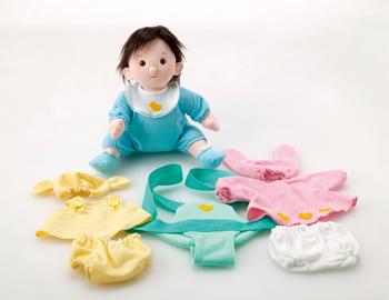 【完売】着せかえ赤ちゃんセット2★フレーベル館オリジナル