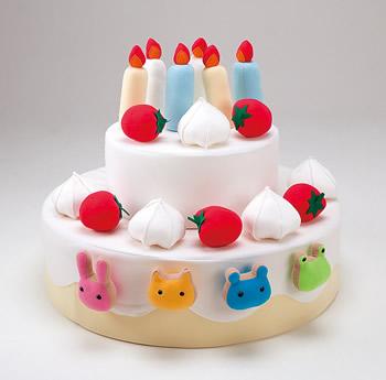 【完売】デコレーションケーキ★大きなケーキに大興奮!!誕生日パーティーにどうぞ♪