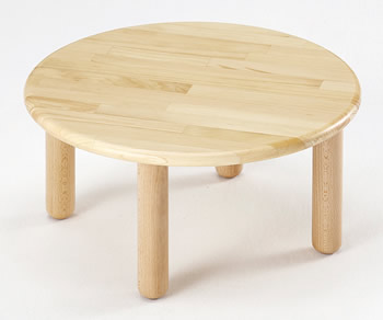 【お取り寄せ/返品不可】ままごとちゃぶ台★木目がきれいなミニテーブル
