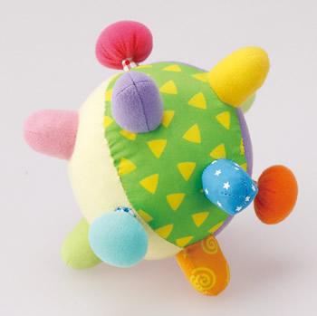 【完売】にぎってボール352★リンリン楽しい赤ちゃんのためのボール