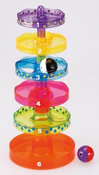 【完売】のせのせ玉ころがし★タワーの上からボールが落ちてくるおもちゃ