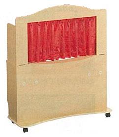 【お取り寄せ/返品不可】人形劇デラックス舞台(折りたたみ式)