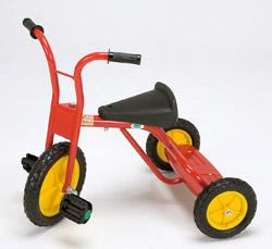 【お取り寄せ】ターボ三輪車SG(赤)★シンプルで頑丈な三輪車の基本形