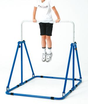 【お取り寄せ/返品不可】折りたたみジュニア鉄棒(組み立て式)★高さ調節可能!