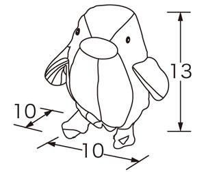 【完売】チャイムペンギン(ピンク)★やさしい音色で歌うぺんぎんさん